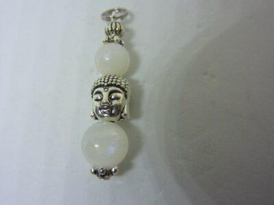 Pendentif intuition Bouddha Pierre de lune