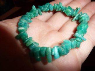 Bracelet amazonite perles multiformes 6-10mm