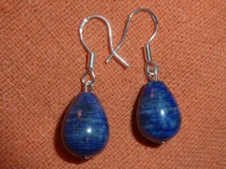 Boucles d'oreilles goutte lapis lazuli