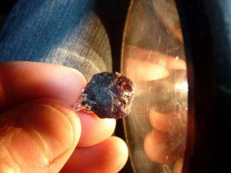 Pendentif Alexandrite Chrysobéryl brut 7 GR 35 carats Ultra Rare Collection Piece de musée ref 345