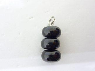 Pendentif tourmaline noire-protection
