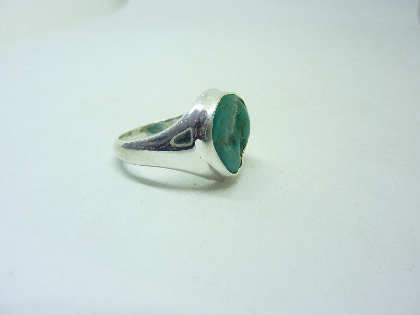 64 60 taille 53 Bague turquoise