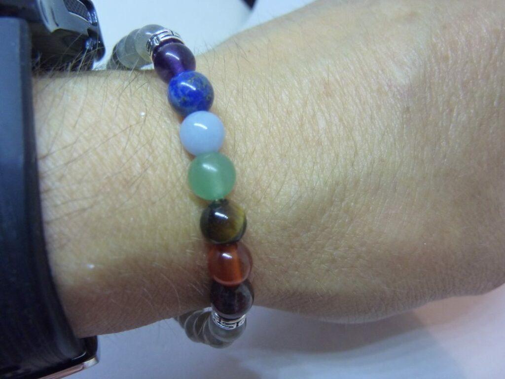 Bracelet 7 CHAKRAS Labradorite Protection