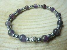 Bracelet Cacoxénite super seven - Hématite