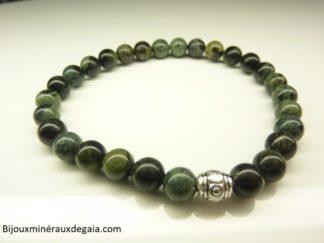 Bracelet Jaspe Kambamba-Perles rondes 6 mm