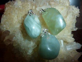 Pendentif Jade vert