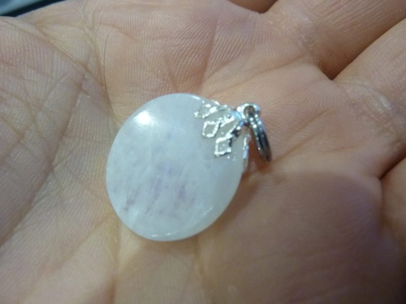 Pendentif pierre de lune gemme ref 2854