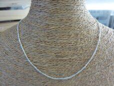 Chaine maille serpent argent 925 Longueur 41,5 cm