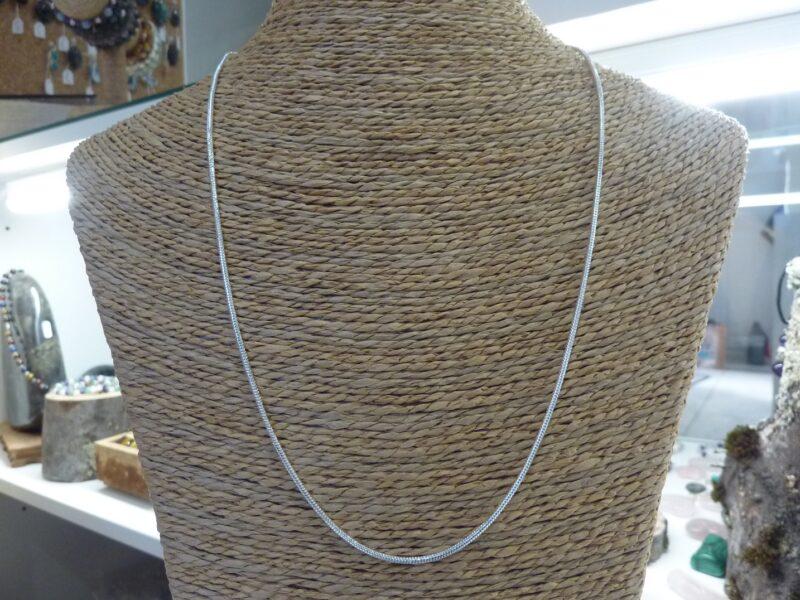 Chaine argent 925 maille serpent Longueur 56 cm