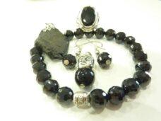 Bijoux Spinelle noir