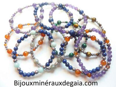 Bracelets pierres naturelles
