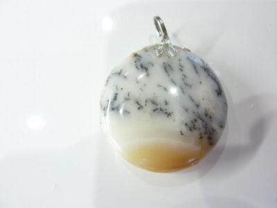 Pendentif Merlinite opale dentritique REF 0827