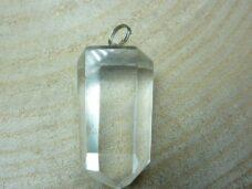 Pendentif pointe cristal de roche ref 4628