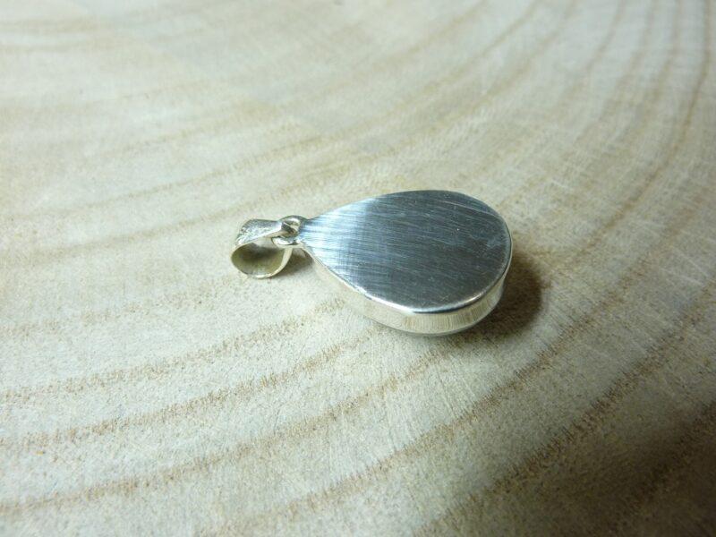 Pendentif pierre de lune monture argent 925 ref 4850