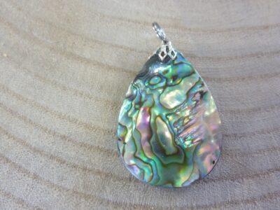 Pendentif nacre abalone ref 2784