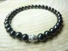 Bracelet Shungite Perles rondes 6 mm