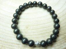 Bracelet Shungite Perles rondes 8 mm