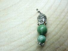 Pendentif Jade vert Bouddha