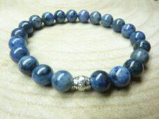 Bracelet Dumortiérite - perles 8 mm