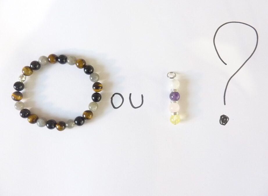 Porter un bracelet ou un pendentif pour la lithothérapie ?